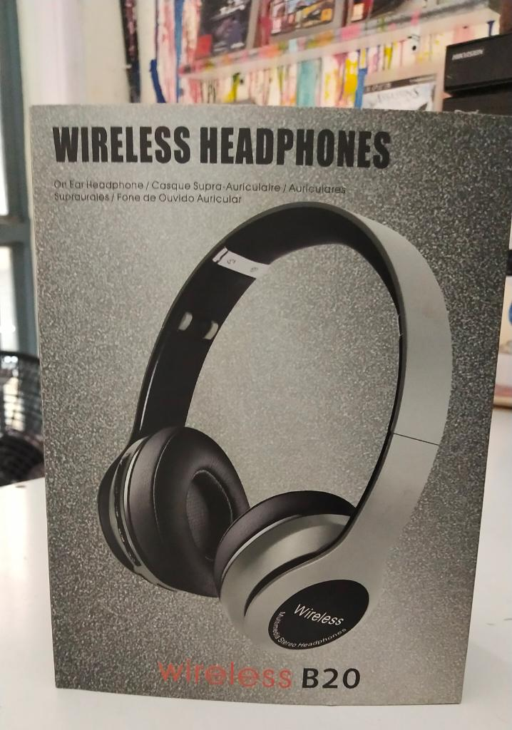 JBL B20 Wireless Bluetooth Headset Stereo Headphone FM
