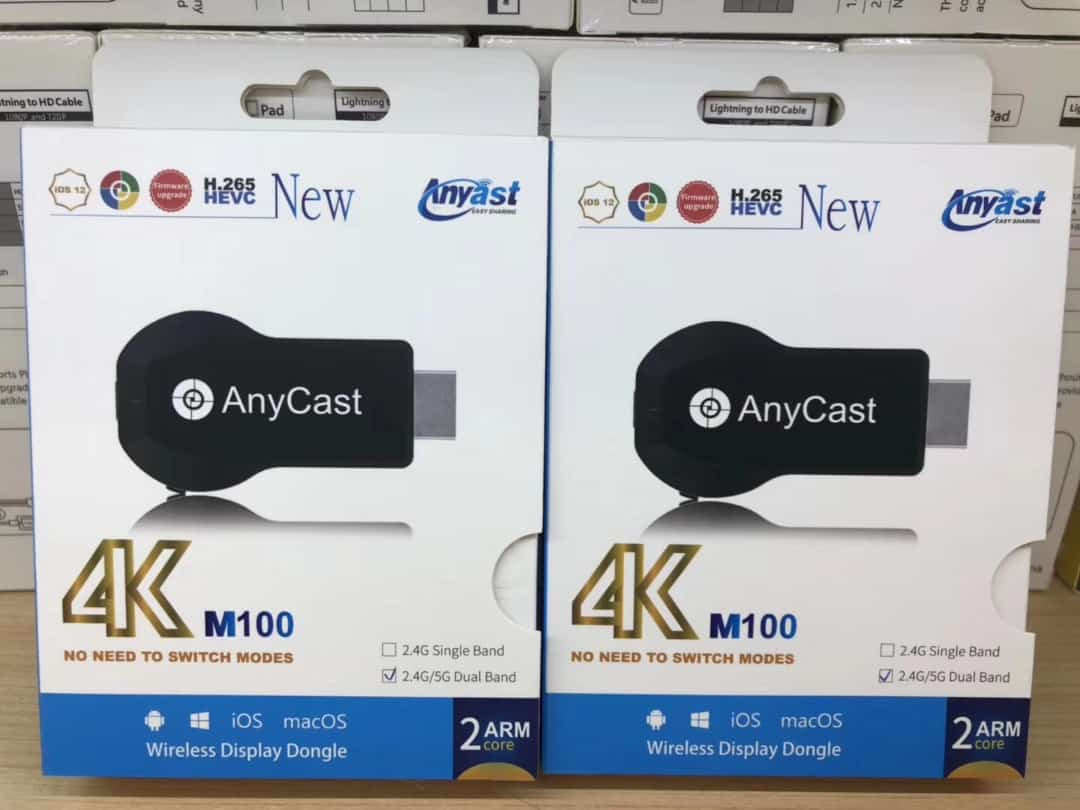 SAMSUNG ?PHONE ANYCAST M100 4K HDMi TV W?RELESS ADAPTOR