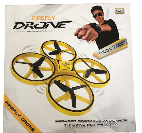 2.4G Firefly Hand Control RC Drone Quadcopter Infrared Throwing Fly