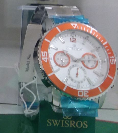 METAL BAND CHRONOGRAPH ORANGE
