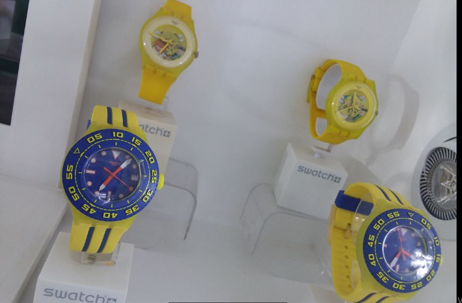 Swatch Yellow jelly skin