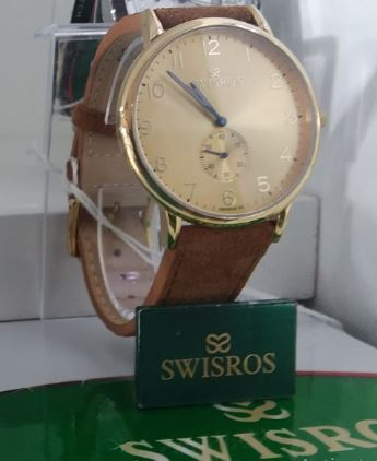 Swisros Dress Watch For Men Analog Leather